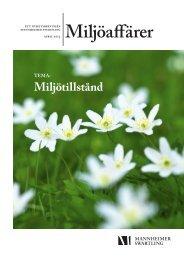Nyhetsbrev Miljöaffärer april 2013 - Mannheimer Swartling