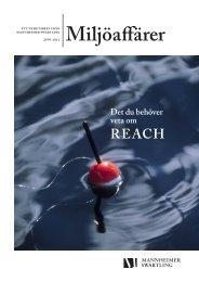 Det du behöver veta om REACH - Mannheimer Swartling