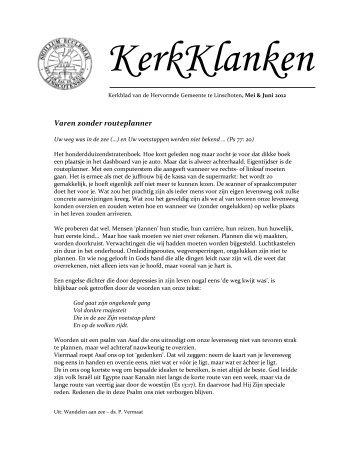 KerkKlanken 2012-05 - Protestantsekerk.net