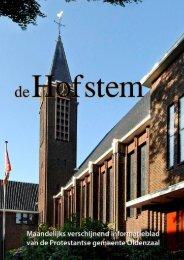Hofstem april 2013 - Protestantsekerk.net