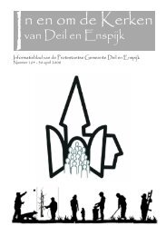 In en om de Kerken - Protestantsekerk.net