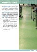 kunstharz-beschichtungen für die nahrungsmittelindustrie - Mapei - Seite 5