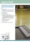 kunstharz-beschichtungen für die nahrungsmittelindustrie - Mapei - Seite 6