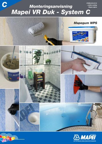 Mapei VR Duk - System C