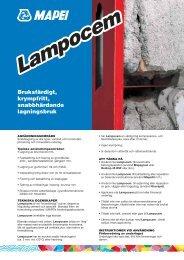 Lampocem - Mapei