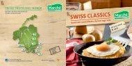 SWISS CLASSICS - Marché Restaurants