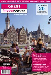 Festival City Ghent Explained -  In Your Pocket