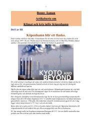 Klimat och kris inför Köpenhamn - Marxistarkiv