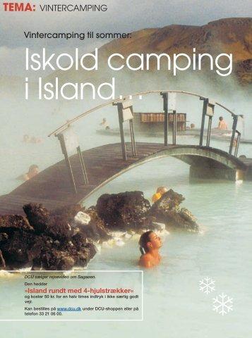 Vintercamping til sommer: TEMA: VINTERCAMPING