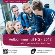 Velkommen til HG - 2013