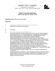 Referat - juni 2011