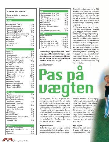 Så meget vejer tilbehør Chassis Udstyr Indretning Køkken En model ...