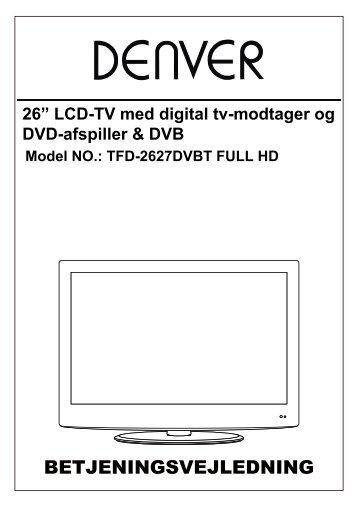 Brug af dvd-afspiller