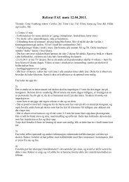 Referat FAU møte 12 - Fronter