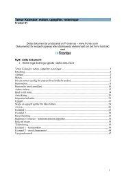 Tema: Kalender, möten, uppgifter, noteringar - Fronter