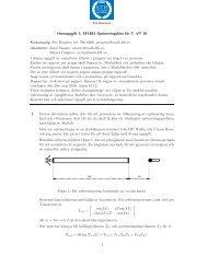 Hemuppgift 3, SF1861 Optimeringslära för T, VT-10 ... - KTH