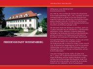 FRIEDENSSTADT WEISSENBERG - Johannische Kirche