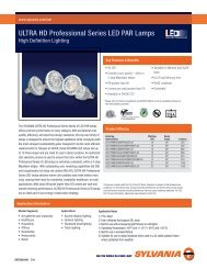 ULTRA HD Professional Series LED PAR Lamps
