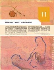 SOCIEDAD, PODER Y LEGITIMACIÓN - McGraw-Hill
