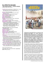 EL EFECTO IGUAZÚ - Ministerio de Educación, Cultura y Deporte