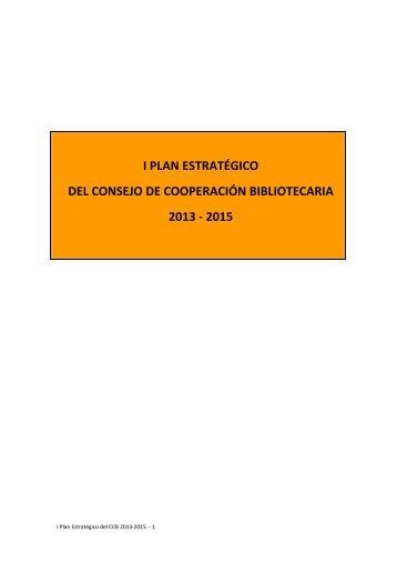 Metodología de elaboración del Plan Estratégico CCB 2015