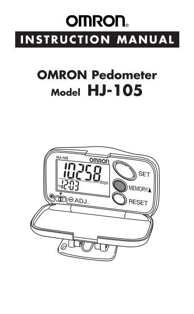 Omron alvita ultimate pedometer, gray hj-329 / buyers choice auctions.