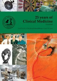 25 years of Clinical Medicine - Medicinska fakulteten - Lunds ...