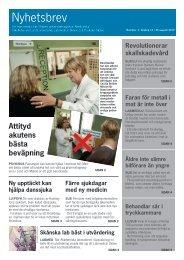 Nyhetsbrev för massmedia nr 4, 2010 - Medicinska fakulteten ...
