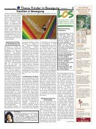 Vielfältige Bewegungs - Elternzeitung Luftballon
