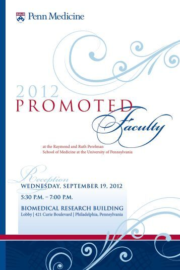 View information about all 2012 promoted faculty - University of ...