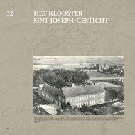 HeT KLOOSTeR SINT JOSePH-GeSTICHT - Medelo