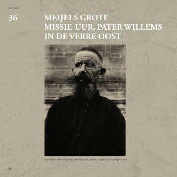 MEIjELS GROTE MISSIE-uuR: PATER WILLEMS IN DE ... - Medelo