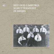 Het Oud Limburgs Schuttersfeest in Meijel - Medelo