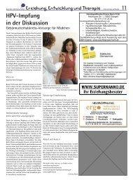 SP Erziehung Entwicklung Therapie Dez 07.indd - Elternzeitung ...