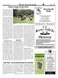 Das Fahr- und Erlebnisticket für Schüler - Elternzeitung Luftballon