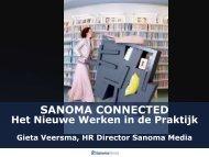 Het Nieuwe Werken - Sanoma Media Parade