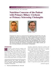 Nutrition Concerns of the Patient with Primary Biliary ... - Medicine