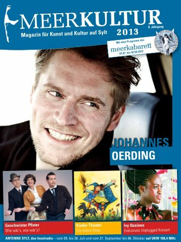 Meerkultur 2013 (PDF) - Meerkabarett