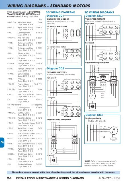 Fantech Wiring Diagrams | Machine Repair Manual on