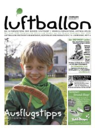 Kinder- theater Abo 1 | 4 – 6 Jahre - Elternzeitung Luftballon