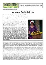 pdf -Het Bloemenmeisje - Anniek De Schrijver - Mensen van bij ons
