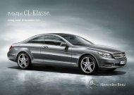 Prijslijst CL (PDF) - Mercedes-Benz in België