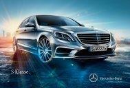 Brochure S-Klasse downloaden (PDF) - Mercedes-Benz in België