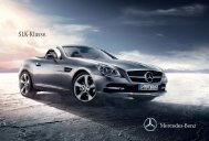 Brochure van de SLK downloaden (PDF) - Mercedes-Benz in België