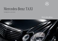 Mercedes-Benz TAXI - Mercedes-Benz in België