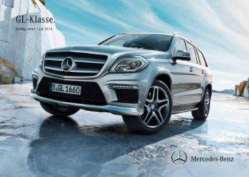 Download prijslijst GL-Klasse (PDF) - Mercedes-Benz in België