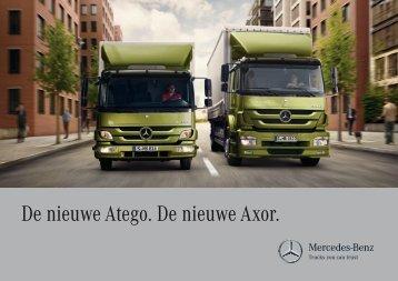 De nieuwe Atego. De nieuwe Axor. - Mercedes-Benz Luxembourg