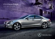 Download prijslijst CLS-Klasse Coupé (PDF) - Mercedes-Benz