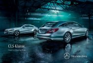 Download brochure CLS Shooting Brake (PDF) - Mercedes-Benz