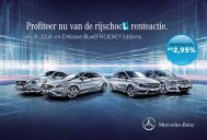 Download de Rijschoolrenteactie brochure (PDF) - Mercedes-Benz